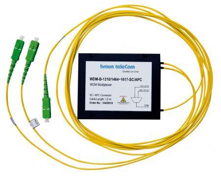 WDM-Multiplexer WDM-B-1310/1464-1617-SC/APC