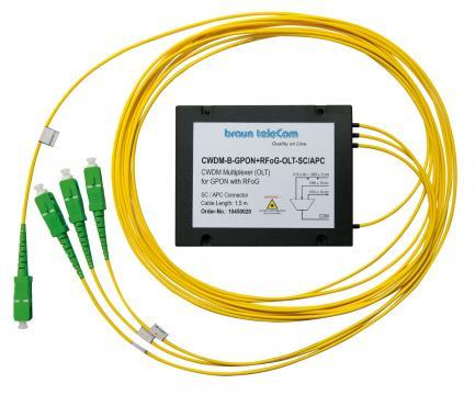 CWDM-Multiplexer CWDM-B-GPON + RFoG-OLT-SC/APC