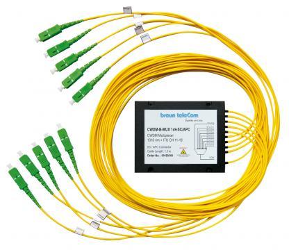 CWDM-Multiplexer CWDM-B-MUX 1x9-SC/APC