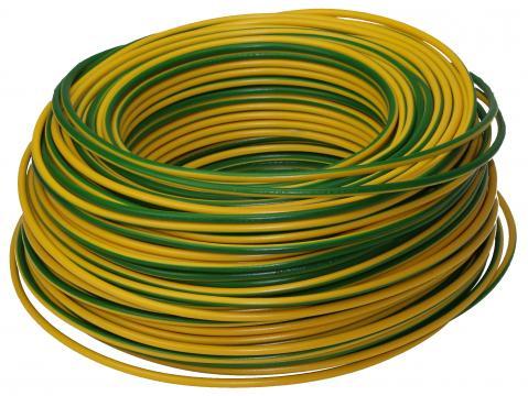 Grounding cable HO7V-K 4 mm² flexible
