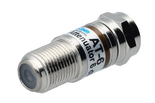 F-Festwert Dämpfungsstecker 5 - 1.006 MHz
