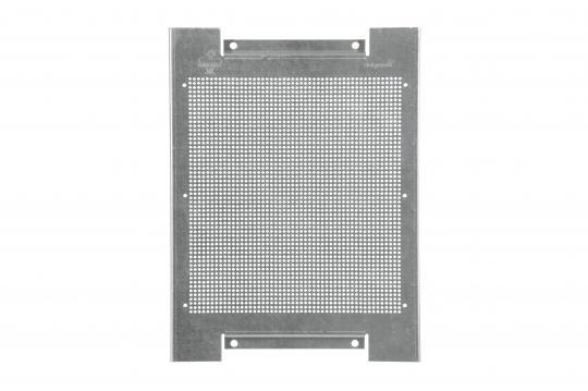 Lochblech-Montageplatte für Innenschutzschränke